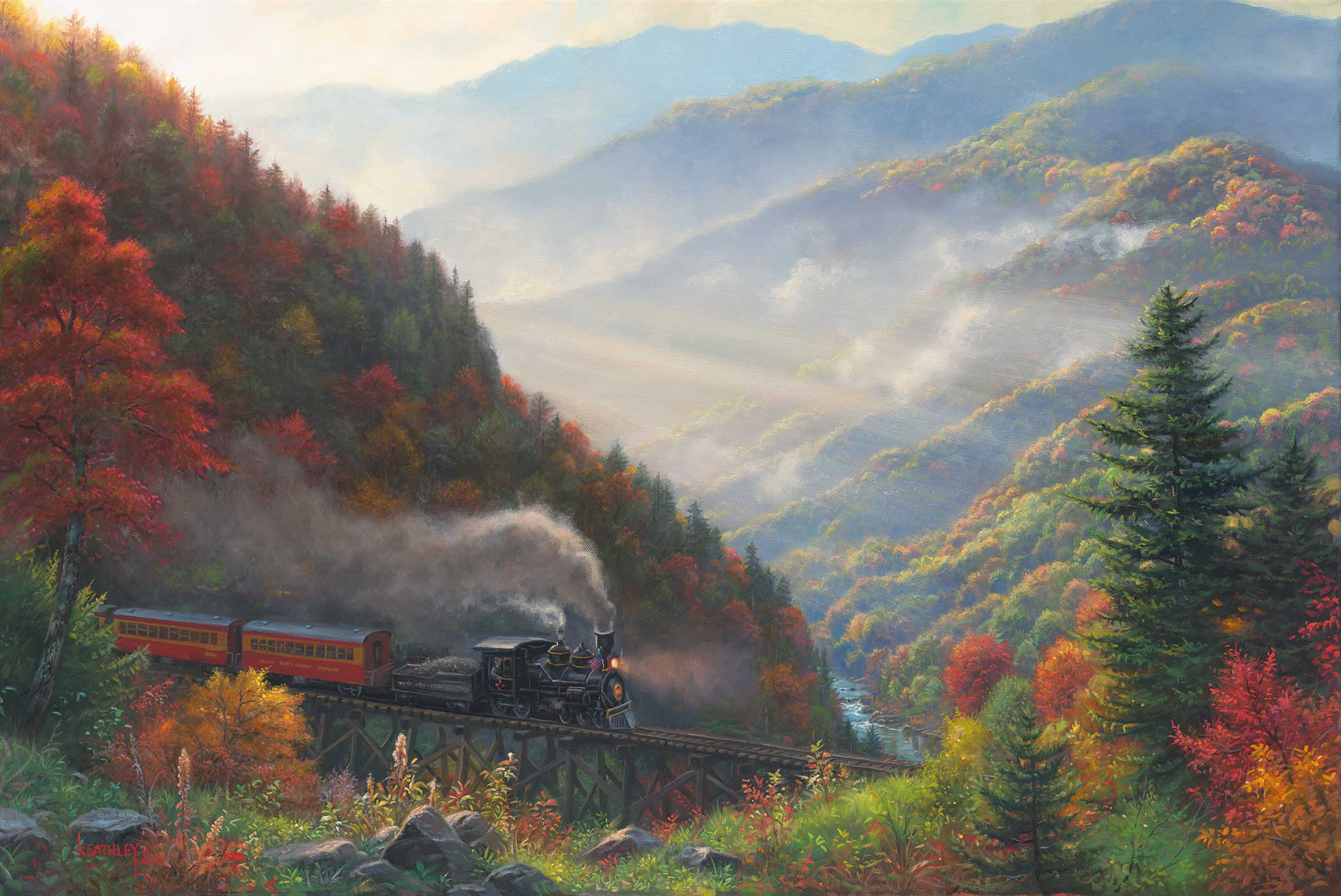 Great Smoky Mountain Railraod MK 07610 1 Cezanne Edit Flat Joomla